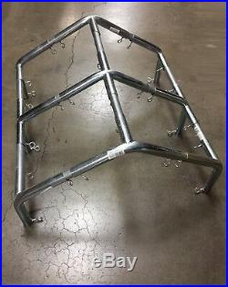 1 Pipe High Peck Canopy Fittings for 10' x 10'/20'/30'/40' Carport Canopy Farm