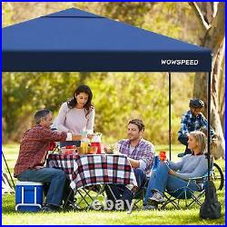 10' X 10' Portable Heavy Duty Canopy Garage Tent Carport Car Shelter Steel Frame