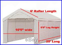 10 X 20 5PC Valance Greenhouse Canopy Enclosure Cover, No Frame- Clear With Fiber