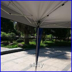 10'X 20'EZ POP UP Wedding Party Tent Folding Gazebo Beach Canopy WithCarry Bag