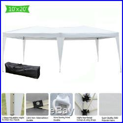 10'X 20' EZ POP UP Wedding Party Tent Folding Gazebo Beach Canopy WithCarry Bag
