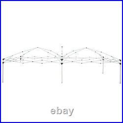 10 X 20 EZ Pop-Up Wedding Party Tent Folding Canopy Gazebo Heavy Duty Pavilion