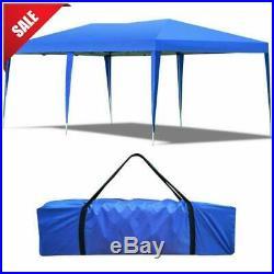 10' X 20' Outdoor Easy Pop up Canopy Heavy Duty Gazebo Pavilion Patry Wedding