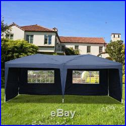 10'X20' Heavy Duty Portable Garage Carport Car Shelter Outdoor Canopy Tent Blue