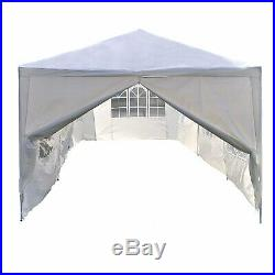 10'X30' White Heavy Duty Portable Garage Carport Car Shelter Outdoor Canopy Tent