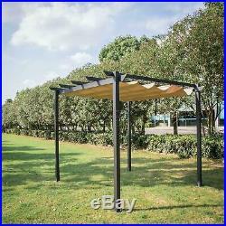 10' x 10' Grill Gazebo Pergola Outdoor Party BBQ Canopy Grape Trellis Pool Tent