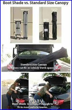 10'x 10' Pop Up Canopy Tent Outdoor Portable Shelter Instant Pop Up Folding Tent