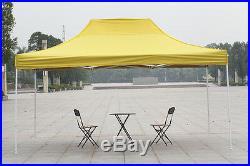 10 x 15 Canopy Heavy Duty Commercial Fair Car Shelter Wedding Pop Up Tent