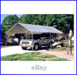 10 x 20 Car Canopy Carport Metal Garage Tent 6 Legs Shelter Truck Cover Party