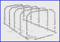 10 x 20 DIY Sportsport Metal Carport Kit