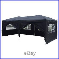 10'x 20' EZ POP UP Party Tent Wedding Gazebo Canopy Marquee 6 Walls