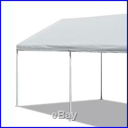 10 x 20 Ft Heavy Duty Canopy Tent Steel Carport / Outdoor Events Shade and Cover