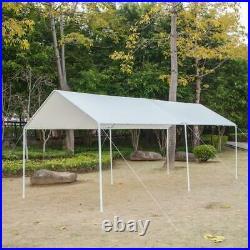 10 x 20 Ft Steel Carport Car Port Canopy Tent Shelter Canopy Heavy Duty Carport