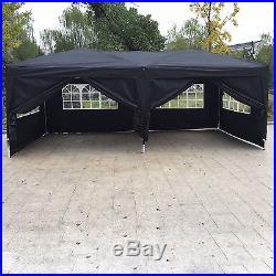 10'x 20' Outdoor EZ POP UP Party Tent Wedding Gazebo Canopy Marquee 6 Walls