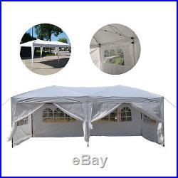 10'x 20' Patio EZ POP UP Party Tent Wedding Gazebo Canopy Marquee 6 Walls