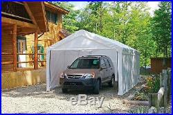 10'x 20' Tent Car Canopy Carpa Kit Waterproof Awnings Vehicle Shelter Garage