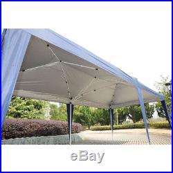 10' x 20' Waterproof Outdoor Garden Gazebo Pop Up Party Tent Wedding Canopy