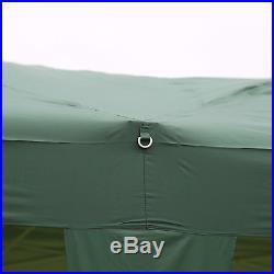 10' x 20' Waterproof Tent Heavy Duty Outdoor Folding Gazebo Party Canopy, Green