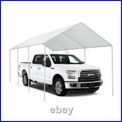 10 x 20 ft Heavy Duty Outdoor Metal Carport Canopy Portable Garage Shelter Tent