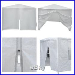 10' x 30' BBQ Gazebo Canopy Event Wedding Party Outdoor Tent With Side Walls
