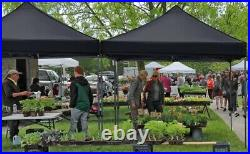 10'x10' Commercial Pop Up Tent Canopy Waterproof Party Wedding Patio Gazebo