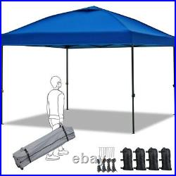 10'x10' Outdoor Gazebo Canopy Instant Tent Adjustable Height Shade Portable Tent