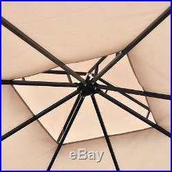 10'x10' Patio Gazebo Outdoor Garden Canopy Tent Sun Shade Shelter with Extension