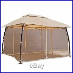 10'x13' Outdoor Patio Gazebo Canopy Tent Home backyard garden awnings with netting