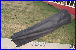 10'x15' Pop Up Canopy Party Tent EZ Black F Model Upgraded Frame