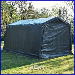 10'x15'x8′ FT Storage Shed Logic Shelter Car Garage Tent