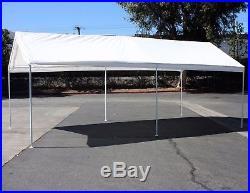 10'x20' Car Boat Carport Canopy Shelter Garage Storage Tent Party Shade EZ Setup