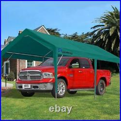 10'x20' Carport Outdoor Canopy Storage Green Heavy Duty Garage Car Tent Shelter