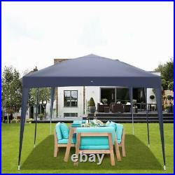 10'x20' EZ Pop Up Canopy Outdoor Patio Wedding Party Tent Folding Gazebo US