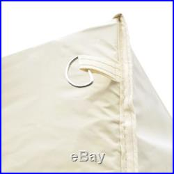 10'x20' Outdoor Foldable Gazebo Pop Up Party Tent Garden Canopy Cream/Blue