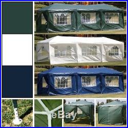 10'x30' Canopy Party Wedding Outdoor Tent Gazebo Pavilion Event + 8-Sidewall Set