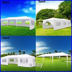 10'x30'Outdoor White Canopy Party Wedding Tent Heavy duty Gazebo garden BBQ