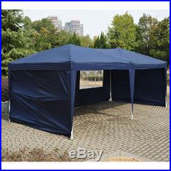 10X 20 Ft EZ POP UP Wedding Party Tent Folding Gazebo Beach Canopy Yard