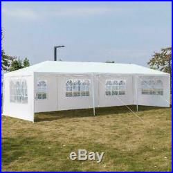 10X 30ft Canopy Wedding Party Tent Gazebo Pavilion with5 Walls Cover Outdoor
