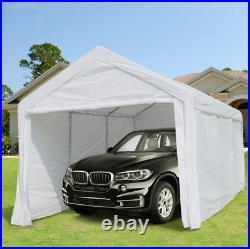 10X20 Carport Car Shelter Steel Canopy Garage Tent Cover Enclosure Caravan