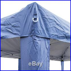 10X20' Outdoor EZ Pop Up Tent Folding Gazebo Wedding Party Canopy With 6Sides