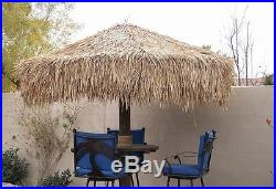 10ft Palapa Umbrella Cover Tiki BBQ Mexican Palm Thatch Replacement