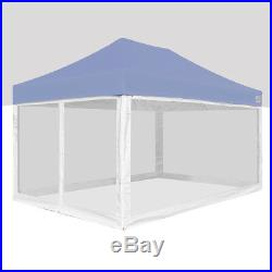 10x10 10x15 10x20 Mosquito Netting Mesh Walls For Outdoor Camping Canopy Tent