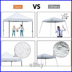 10x10 Commercial Pop Up Canopy Outdoor Instant Party Patio Gazebo Tent Shelter