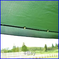 10x10 Gazebo Canopy Shelter Patio Wedding Party Tent Outdoor Awning Green