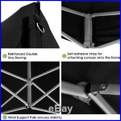 10x10Ft Pop Up Canopy Outdoor Portable Instant Folding Shelter with Sidewall