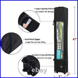10x10ft Canopy Awning Gazebo Tent Sun Shade Pop Up Folding Portable UV-Block