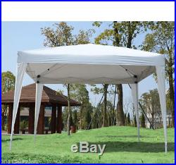 10x10ft Easy Pop Up Party Tent Gazebo Marquee Canopy with 4 Removable Sidewalls