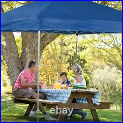 10x10ft Pop UP Canopy Wedding Party Tent Folding Waterproof Gazebo Patio With Bag