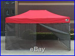 10x15 10x20 Pop Up Commercial Food Service Mesh Wall Kit Mosquito Netting Only
