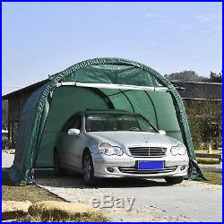 10×15 FT Canopy Carport Tent Car Shed Outdoor Storage ...